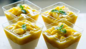 mousse de mango cu frisca Decor Up